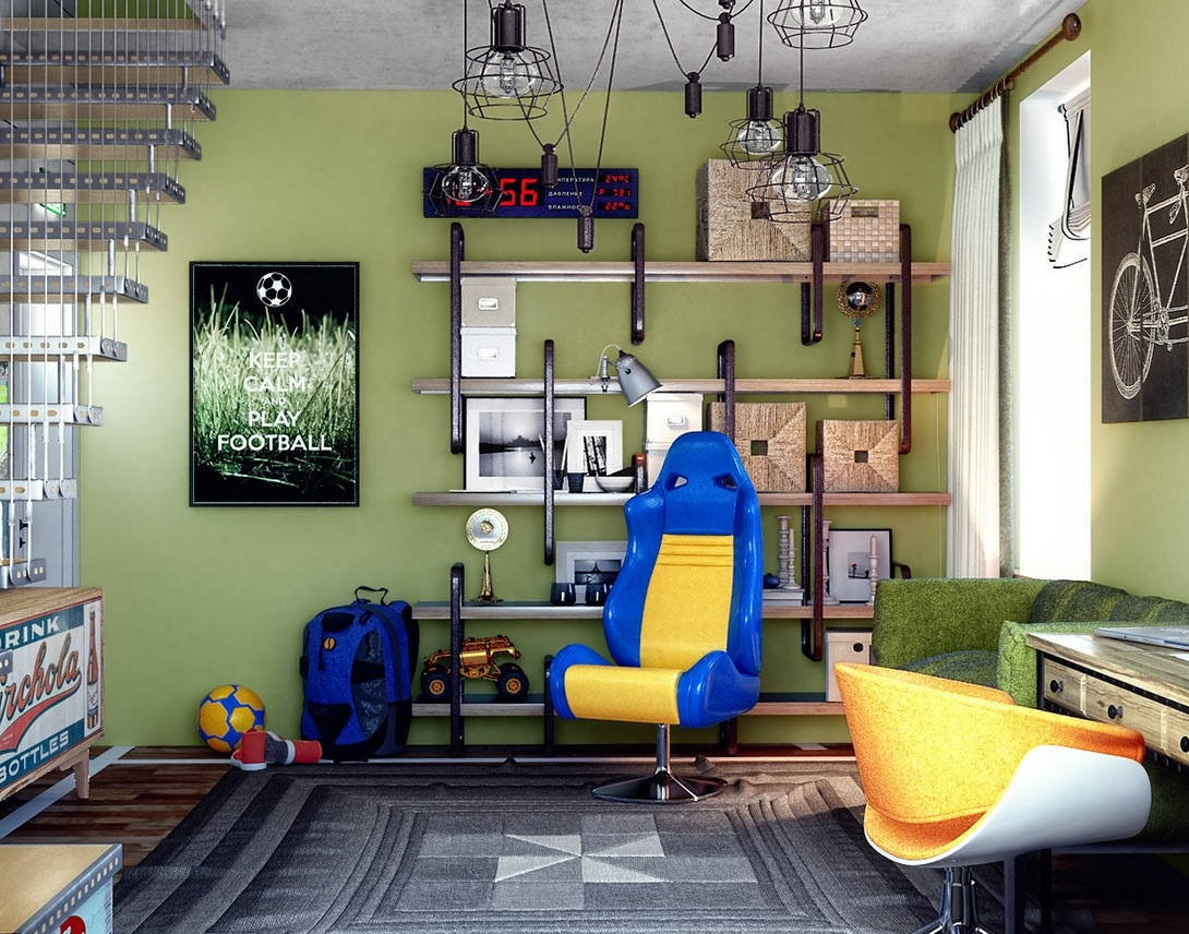 Creative Bedrooms that Any Teenager Will Love on Teenage Girl:pbu1881B-Jc= Cool Bedroom Ideas  id=96795