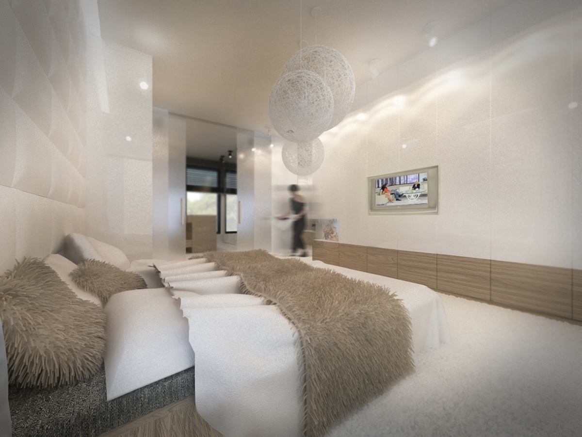 3 Gorgeous Apartment Interiors in Rich, Warm, Tones on Room Decore  id=14806
