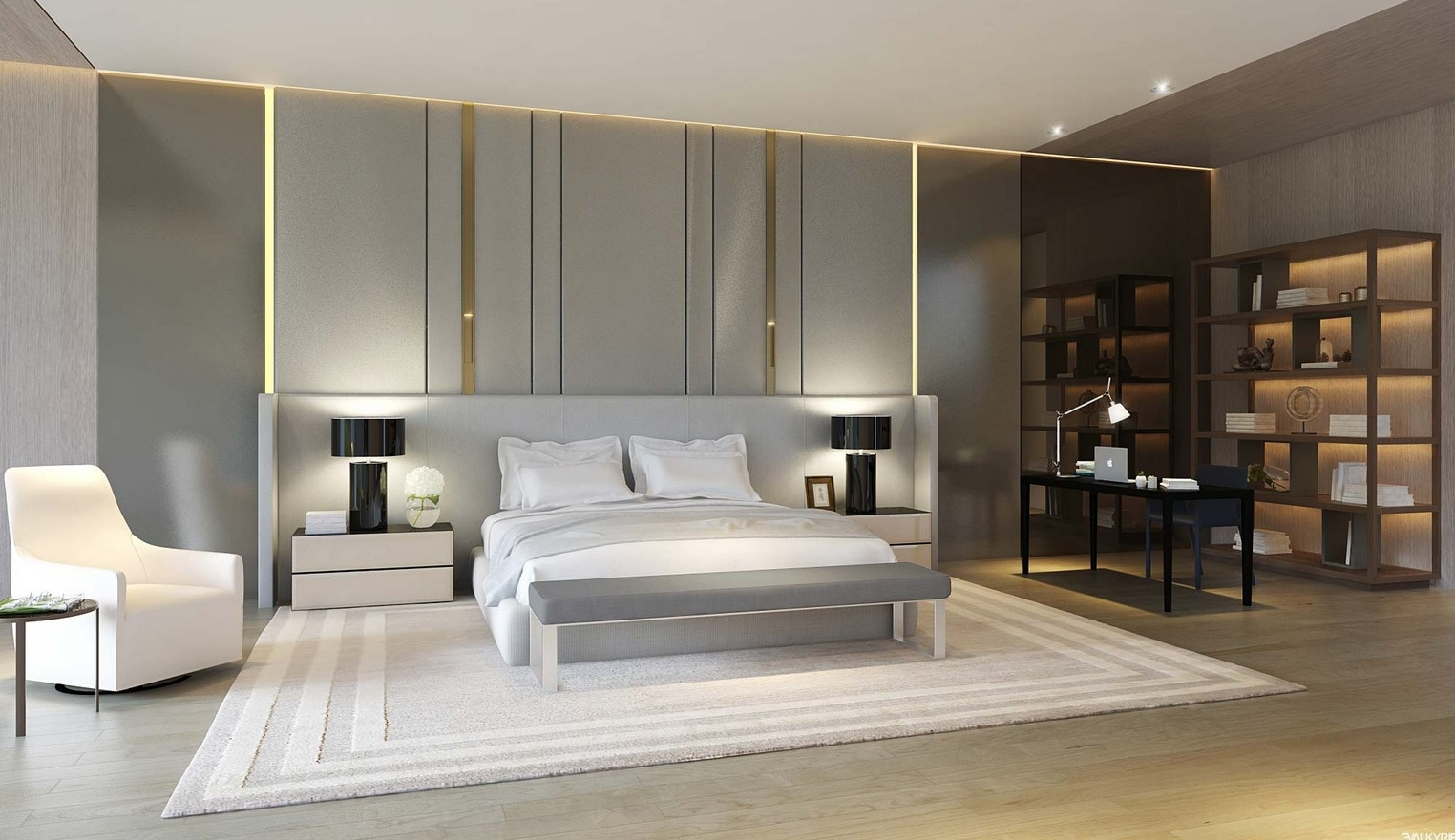21 Cool Bedrooms for Clean and Simple Design Inspiration on Simple Best Bedroom Design  id=72530