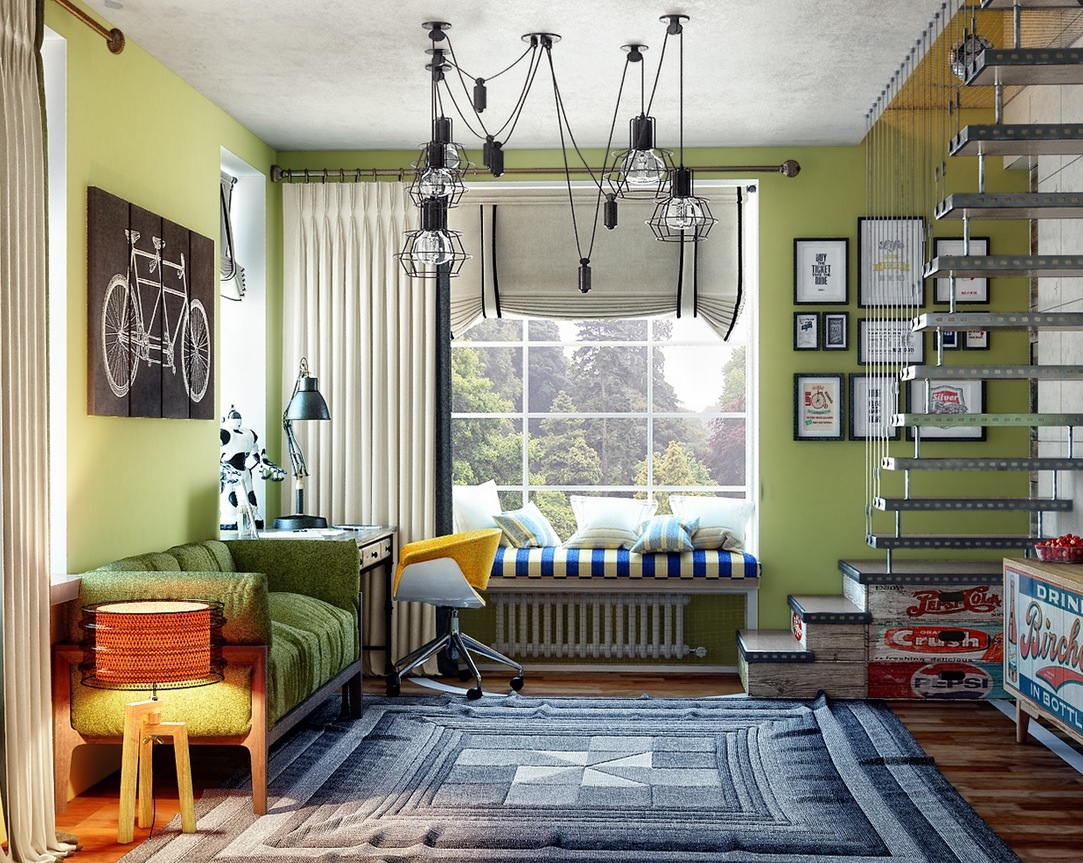Creative Bedrooms that Any Teenager Will Love on Teenager Basement Bedroom  id=18435