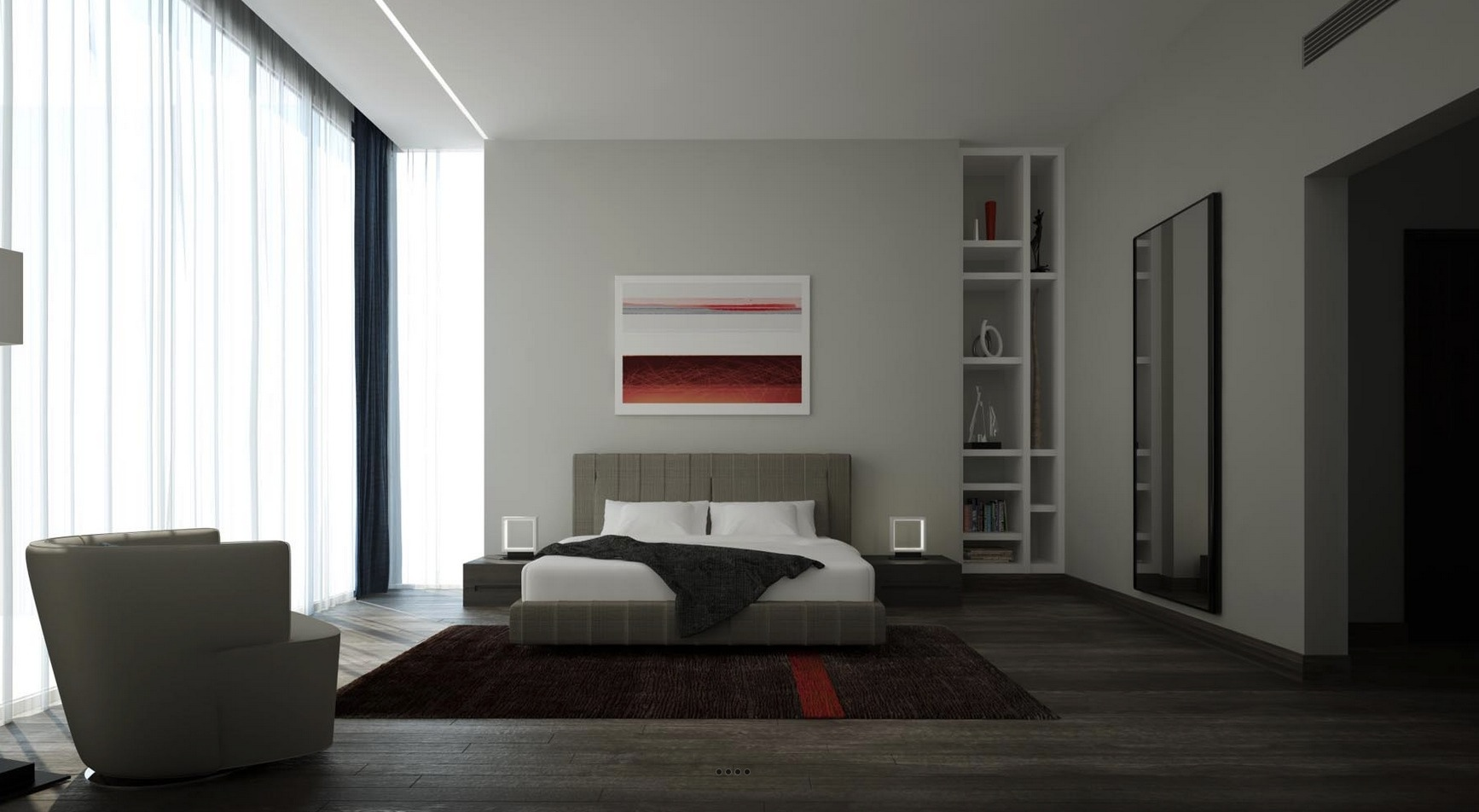 21 Cool Bedrooms for Clean and Simple Design Inspiration on Cool Bedroom Ideas For Small Rooms  id=48972