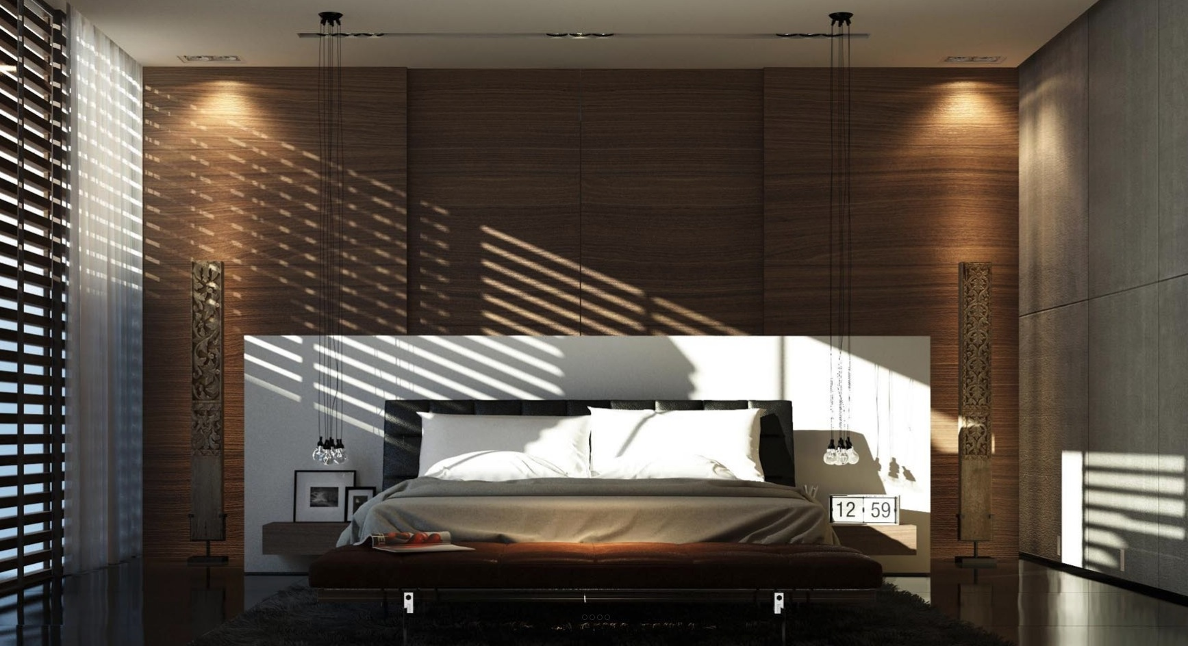 21 Cool Bedrooms for Clean and Simple Design Inspiration on Cool Bedroom Ideas  id=65150