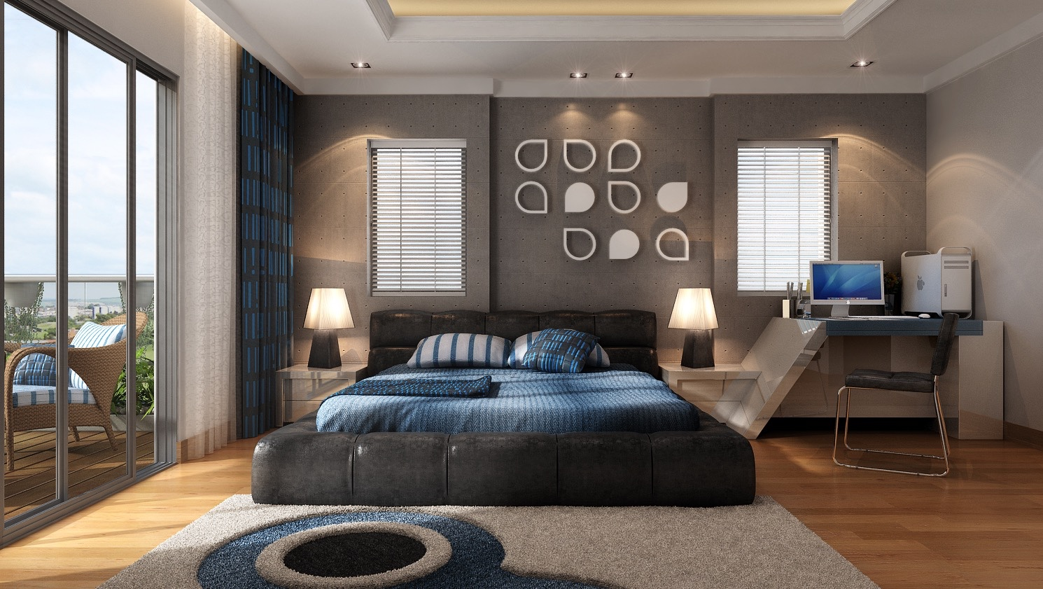 21 Cool Bedrooms for Clean and Simple Design Inspiration on Best Master Bedroom Designs  id=16112