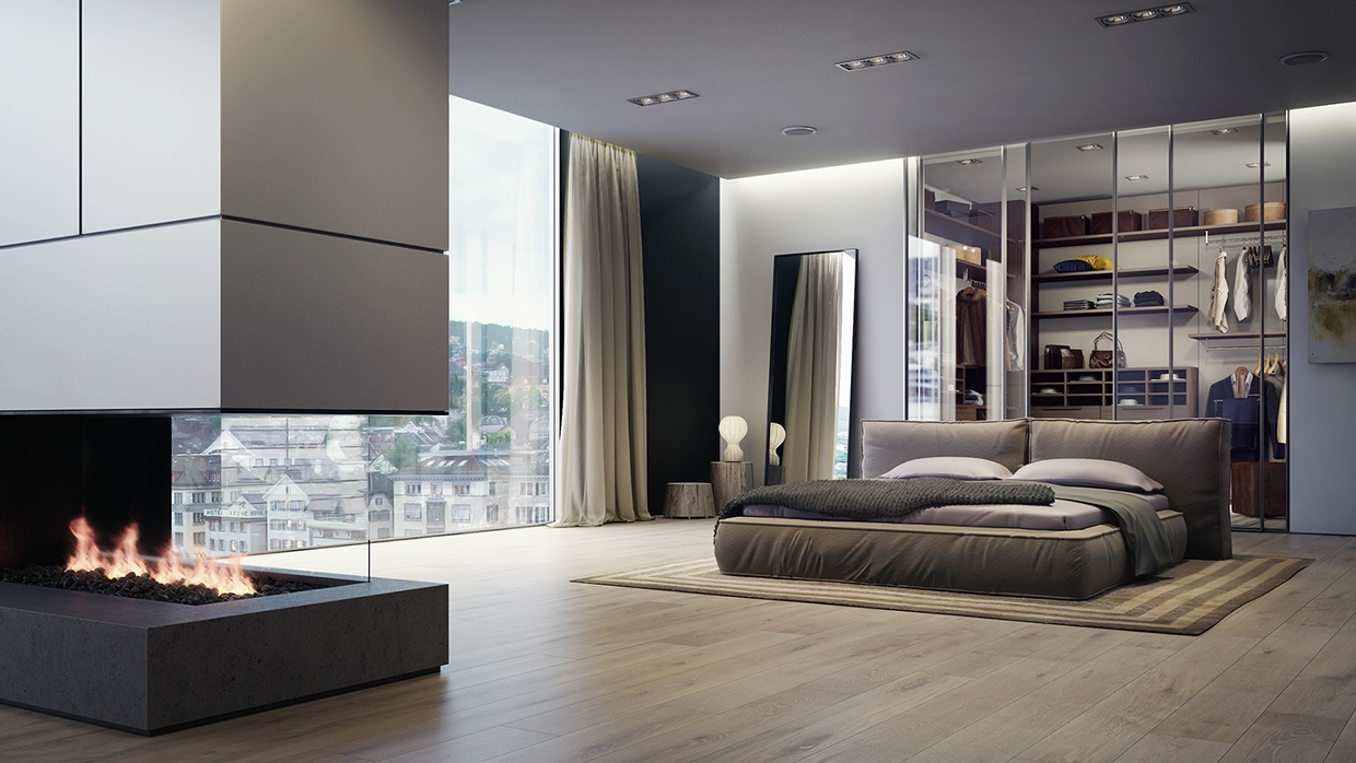 21 Cool Bedrooms for Clean and Simple Design Inspiration on Cool Bedroom Ideas  id=87743