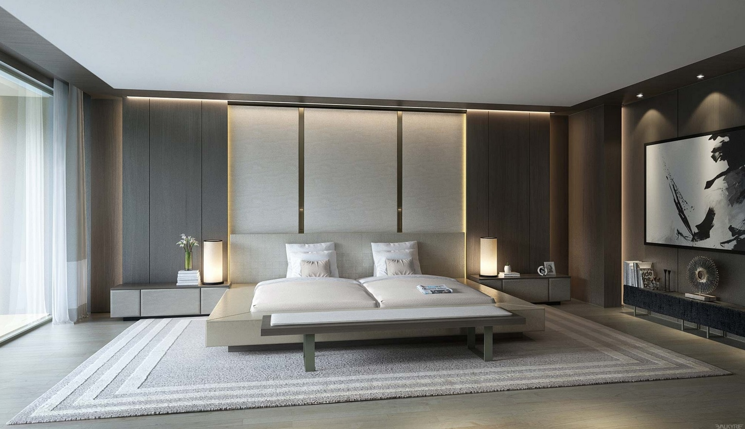 21 Cool Bedrooms for Clean and Simple Design Inspiration on Simple Best Bedroom Design  id=12542