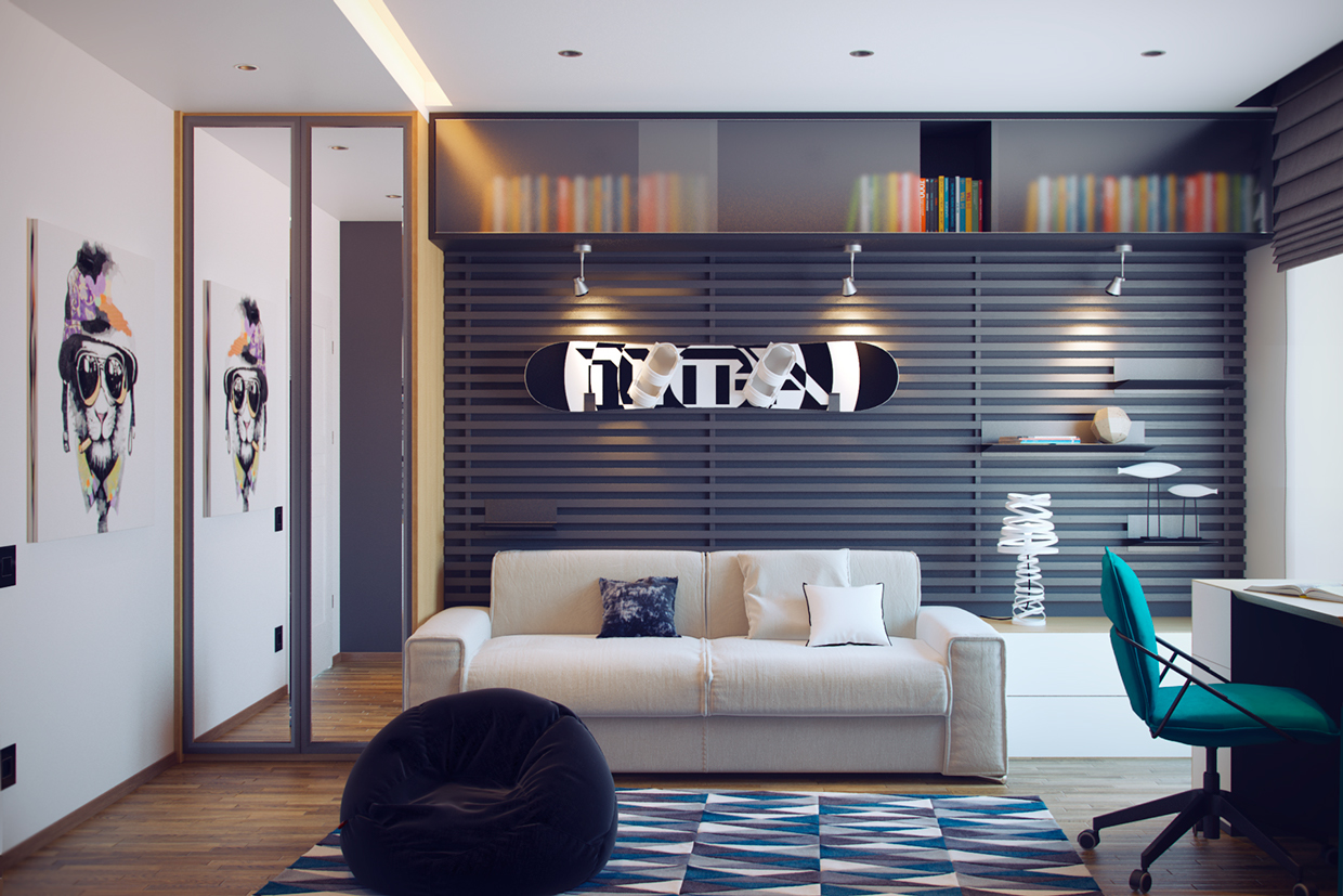 Creative Bedrooms that Any Teenager Will Love on Teenage Room Decoration  id=61812