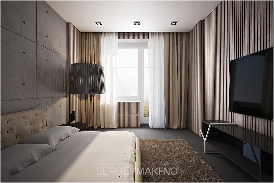 Warm Industrial Bedroom Interior Design Ideas