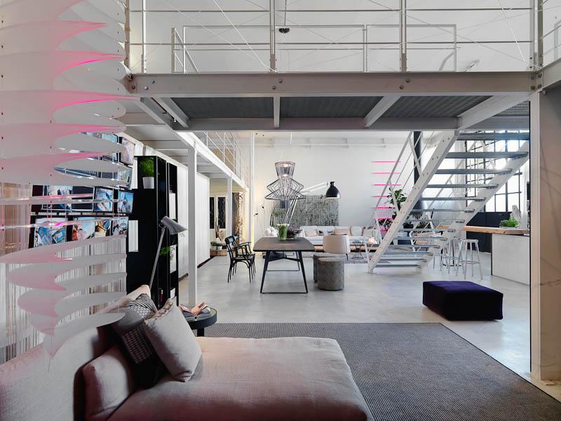 Loft With Catwalk Interior Design Ideas