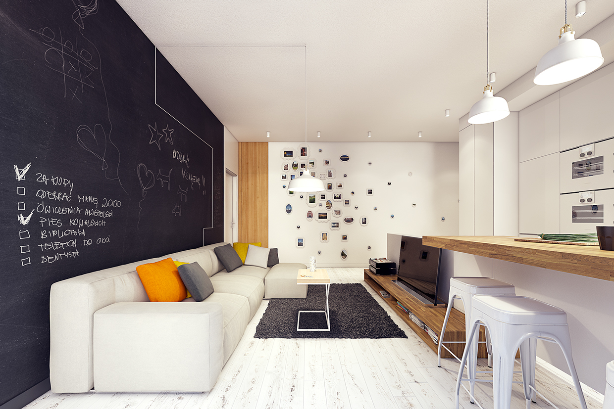 14 Sunny Apartments with Quirky Design Elements