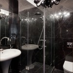 Black Marble Bathinterior Design Ideas