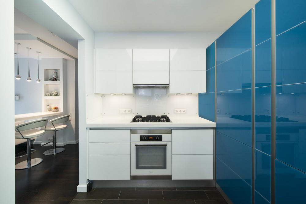 Simple Small White Kitchen Interior Design Ideas