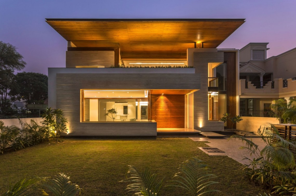 A Sleek, Modern Home with Indian Sensibilities and an ...