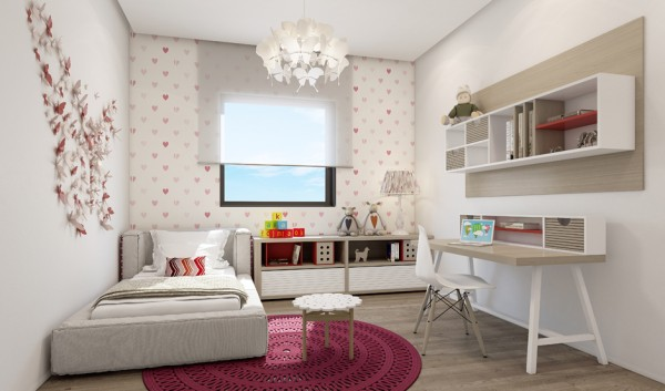 4 Contemporary Home Visualizations with Sleek Sophistication on Beautiful:9Ekmjwucuyu= Girls Room Decoration  id=40593