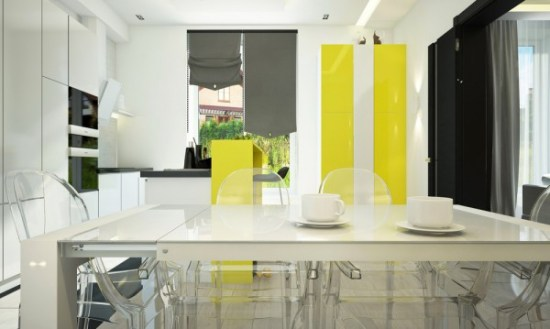 yellow-cabinetry
