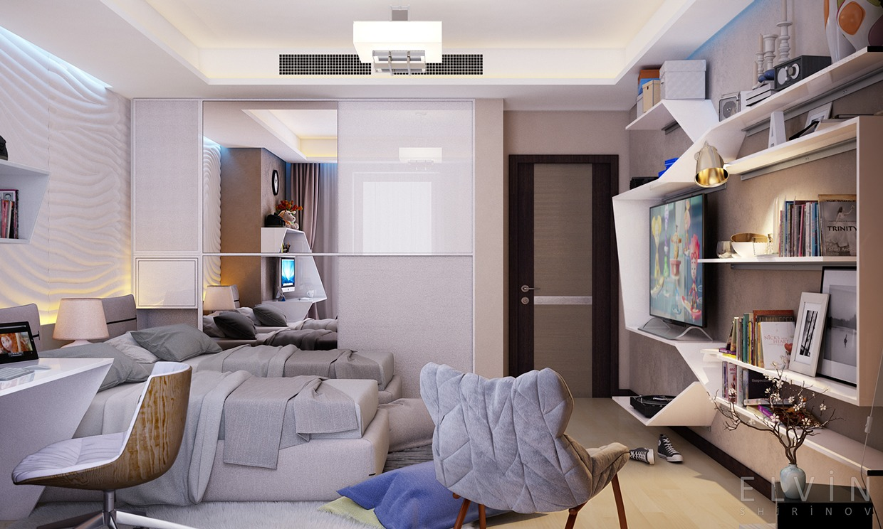 Funky Rooms That Creative Teens Would Love on Rooms For Teenagers  id=78630