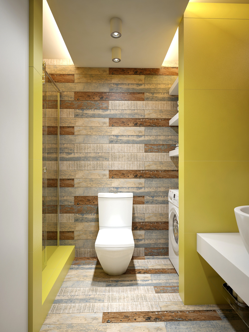 3 Open Studio Apartment Designs on Contemporary:kkgewzoz5M4= Small Bathroom Ideas  id=87293