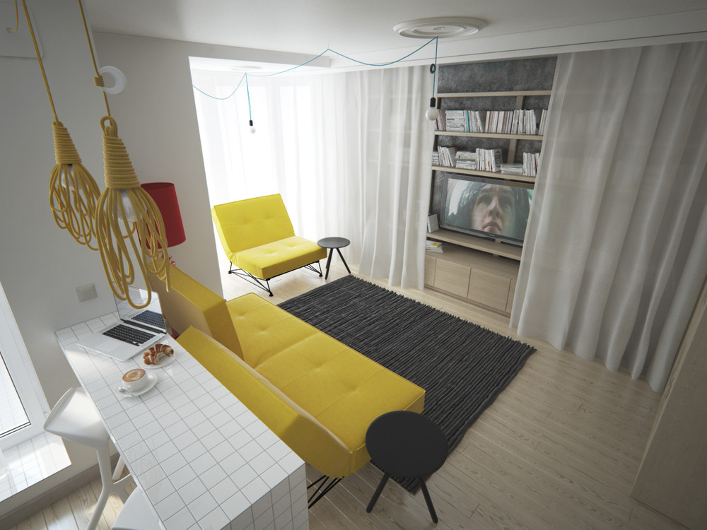 3 Feminine Apartments Designed For 3 Sizes