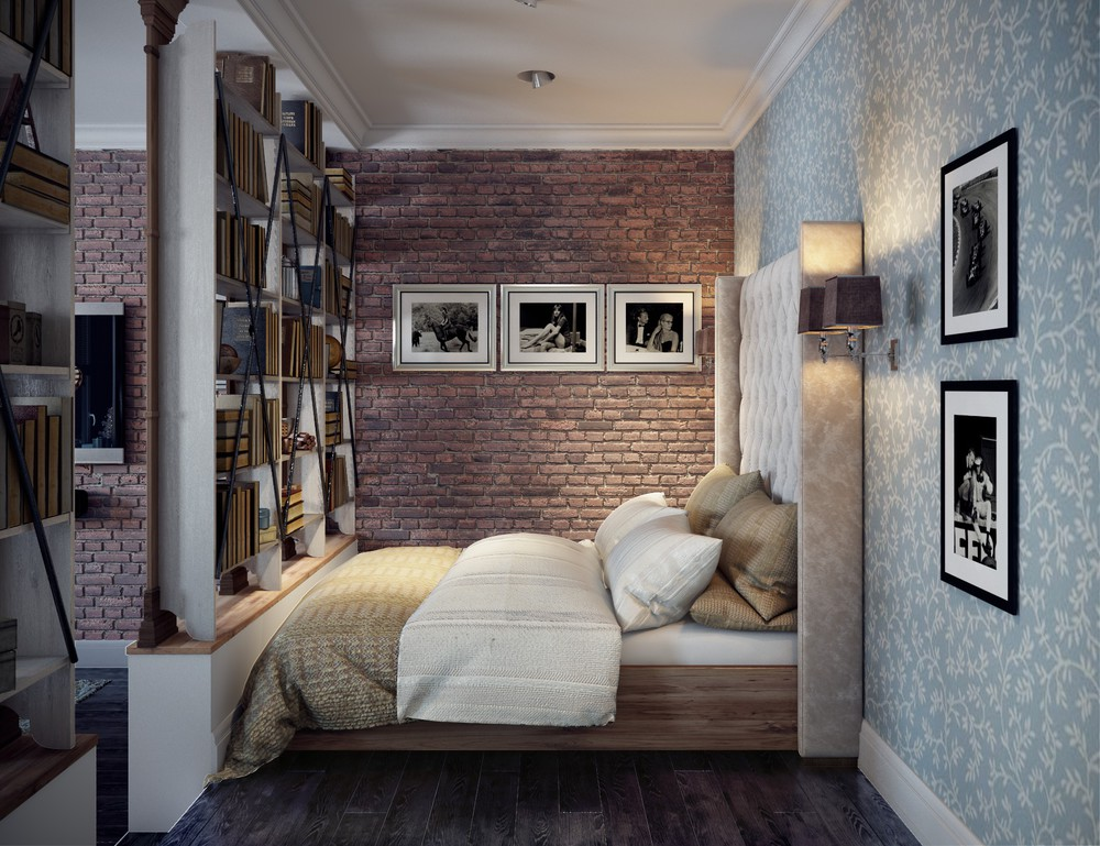2 Single Bedroom Apartment Designs Under 75 square meters on Comfy Bedroom  id=21733