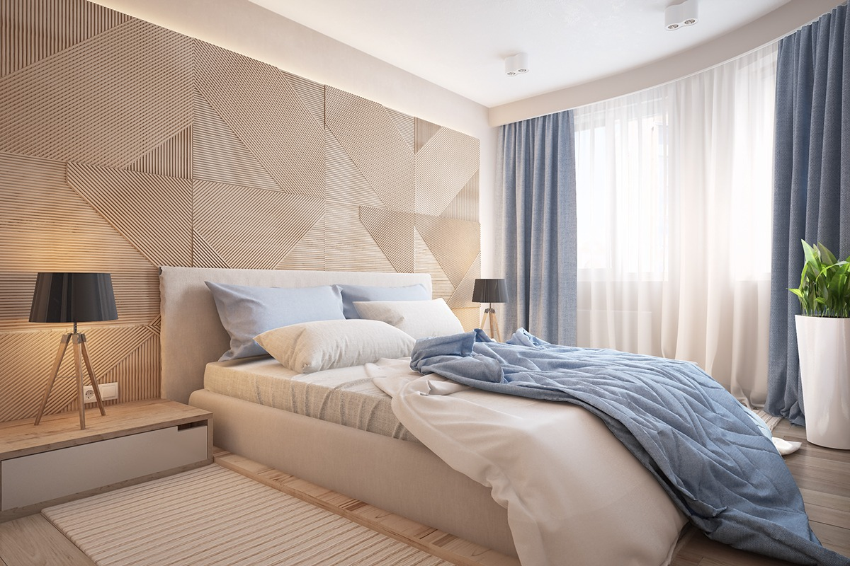 Similarly Simple Designs with a Bright and Cheerful Tone on Creative Wall Design Ideas  id=34832