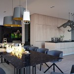 Black Marble Dining Tableinterior Design Ideas