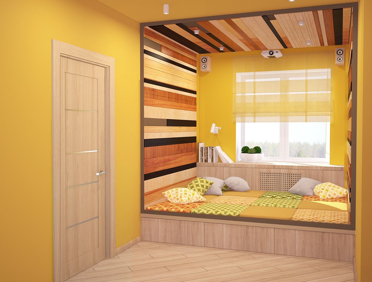 Sleeping Nook Interior Design Ideas
