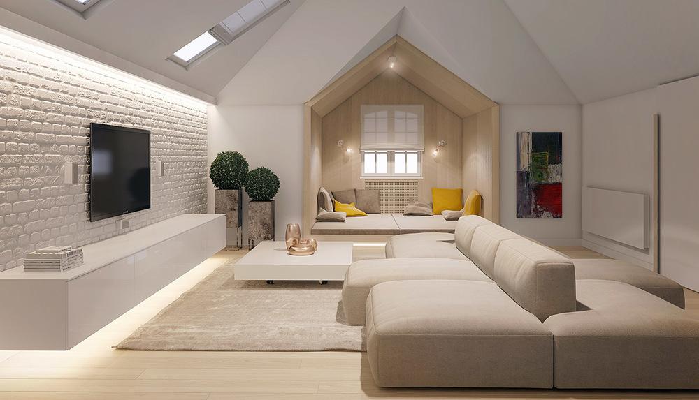Two Sided Sofa Interior Design Ideas
