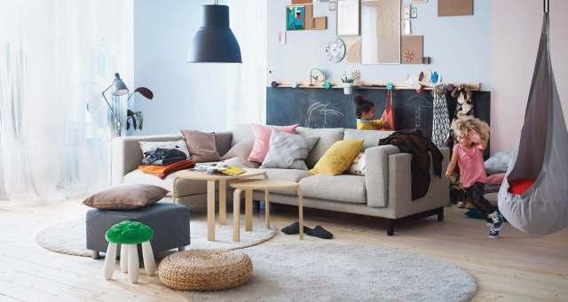 artsy-living-room-ikea   Interior Design Ideas.