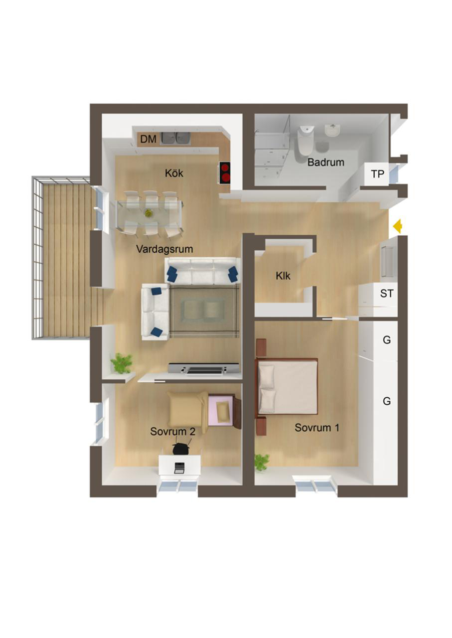 Small Eat Kitchen Floor Plans