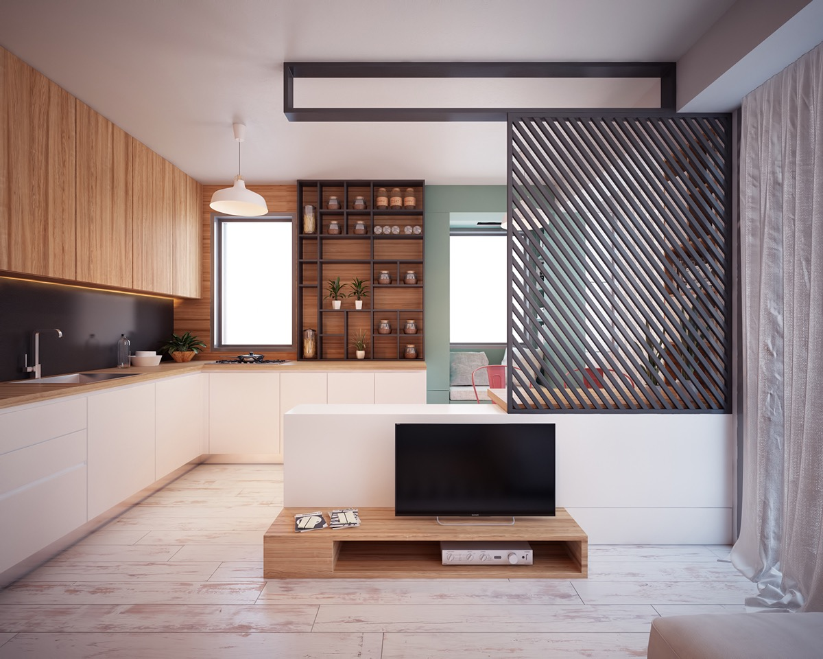 Ultra Tiny Home Design: 4 Interiors Under 40 Square Meters on House Interior Ideas  id=86012