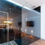 Black Marble Showerinterior Design Ideas