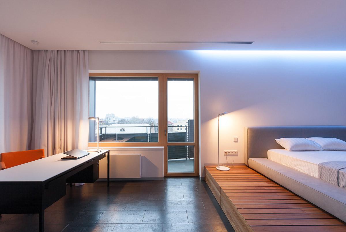 Elevated Platform Bed Interior Design Ideas