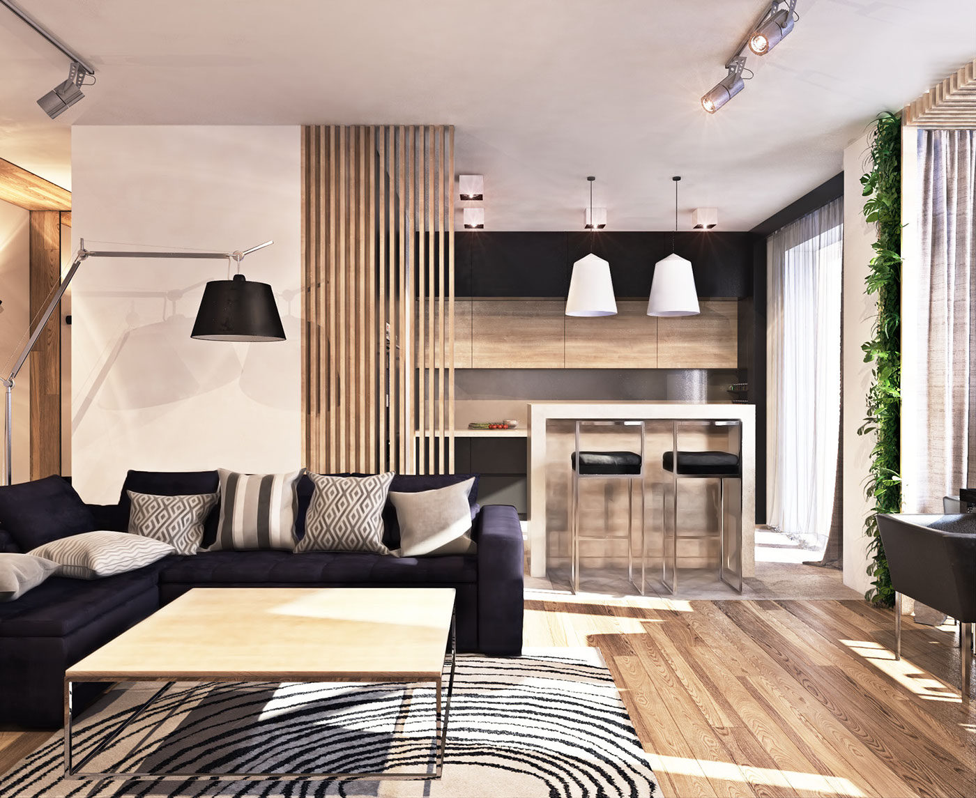 Make the most of the space in your small living room with these furniture and decorating ideas to revisit this article, visit my profile, thenview saved stories. A Contemporary Apartment with Lots of Open Space