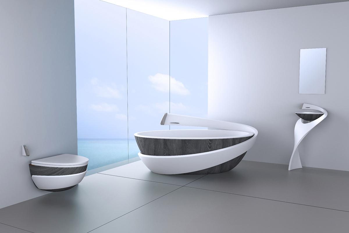 Top Innovative Bathtub Modern Bathroom Multitude 4595 Wtsenates