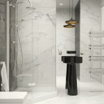Black And White Marble Bathroominterior Design Ideas