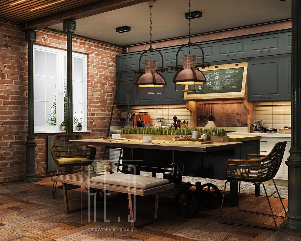 title | Industrial Kitchen Ideas