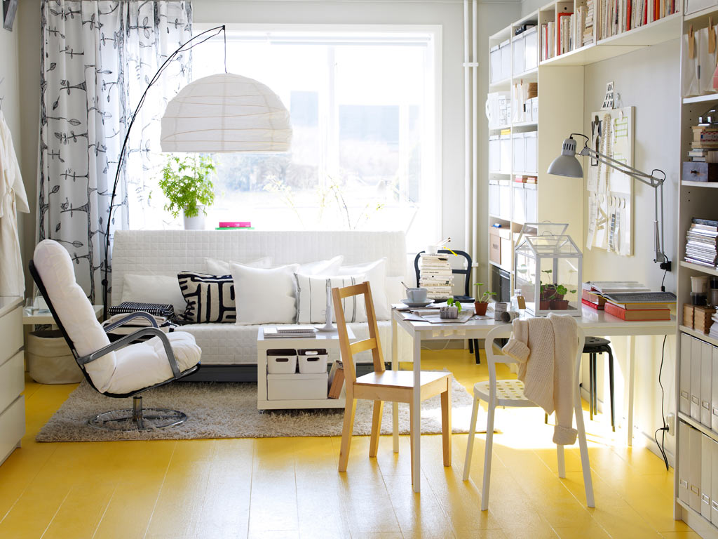 pale yellow living room ideas
