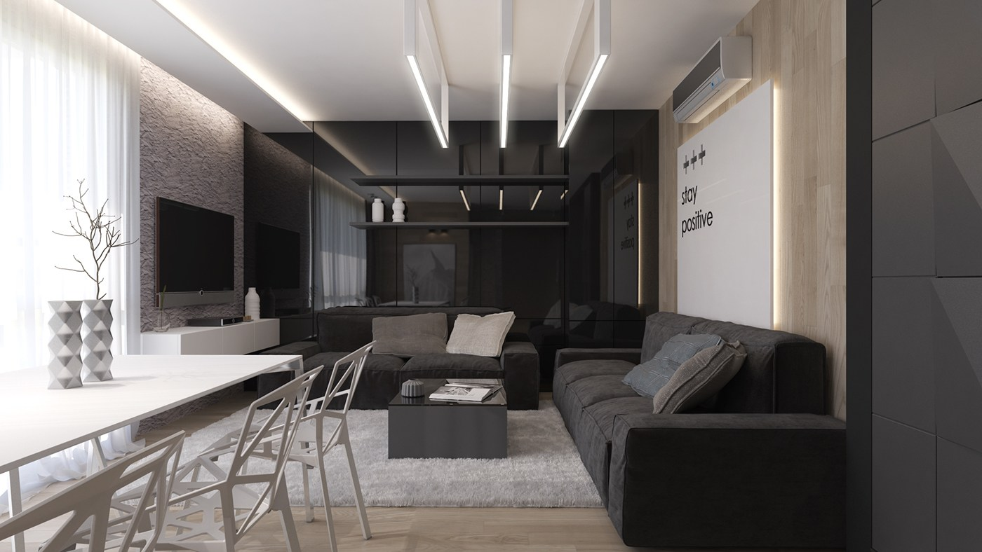 It's likely you and your guests will spend countless hours in this room, discussing and entertaining. Black Living Rooms Ideas & Inspiration