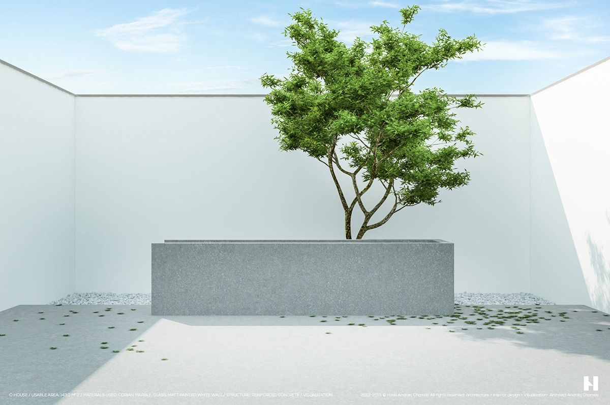 6 Perfectly Minimalistic Black And White Interiors on Minimalist Backyard Design id=91489