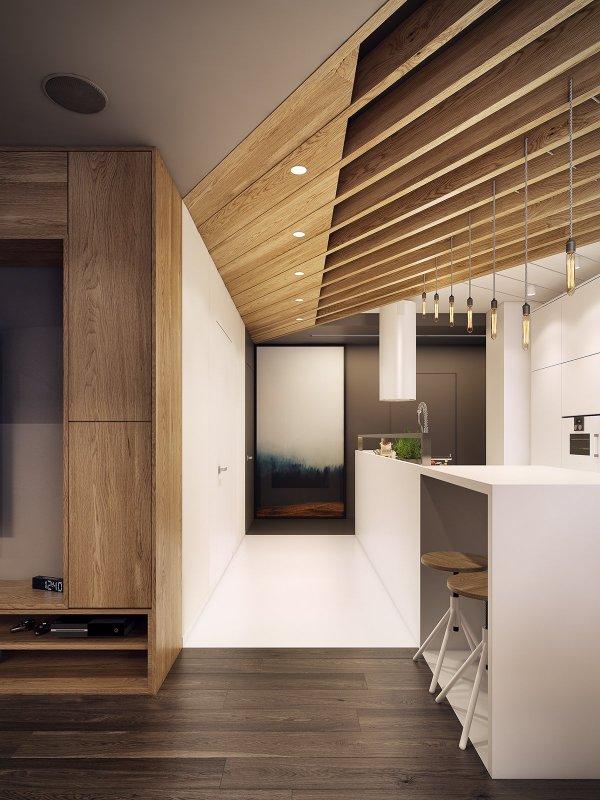 Dramatic Interior Architecture Meets Elegant Decor in ...