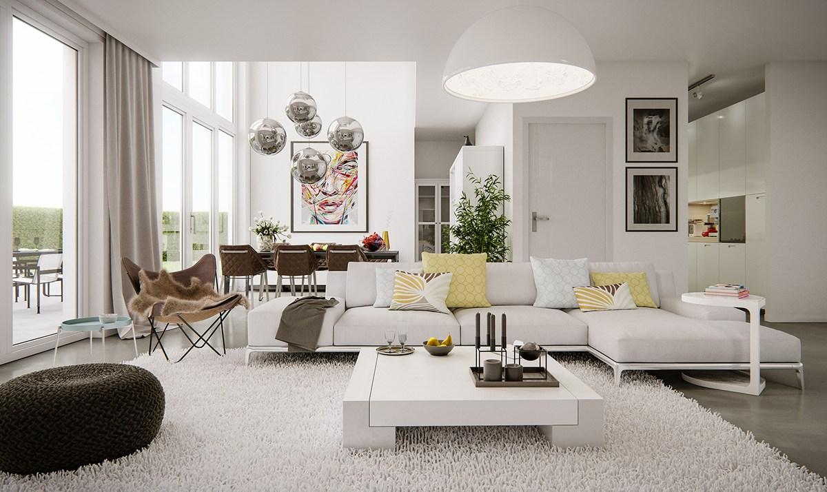 5 Living Rooms That Demonstrate Stylish Modern Design Trends on Trendy Room  id=44256