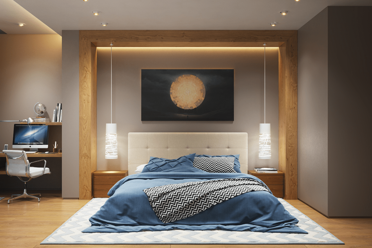 master bedroom lighting ideas