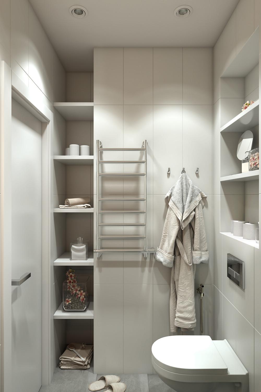 4 Small Apartments Showcase The Flexibility Of Compact Design on Small Apartment Bathroom Ideas  id=58158