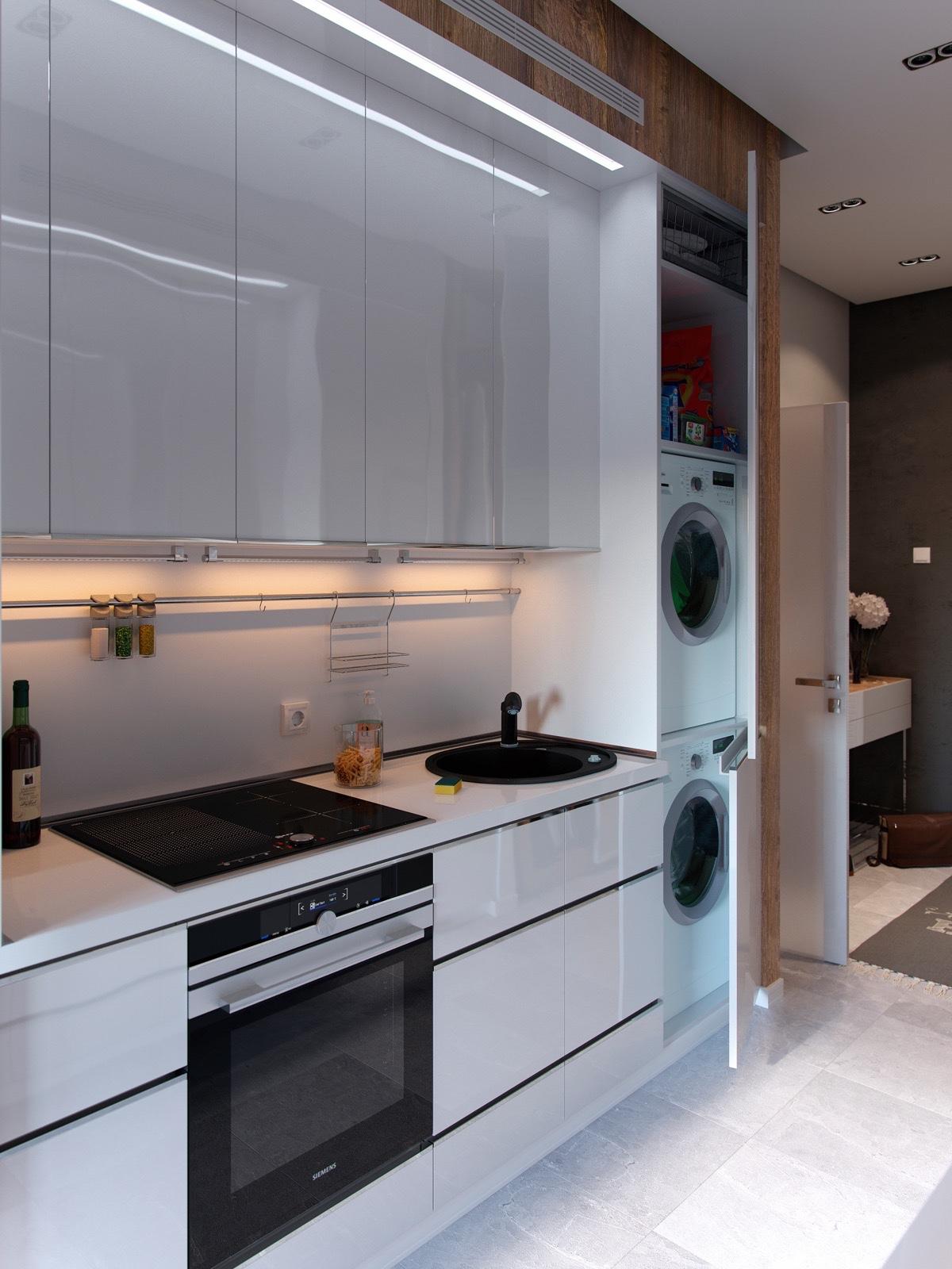 Arrangement Small Kitchen Kitchens