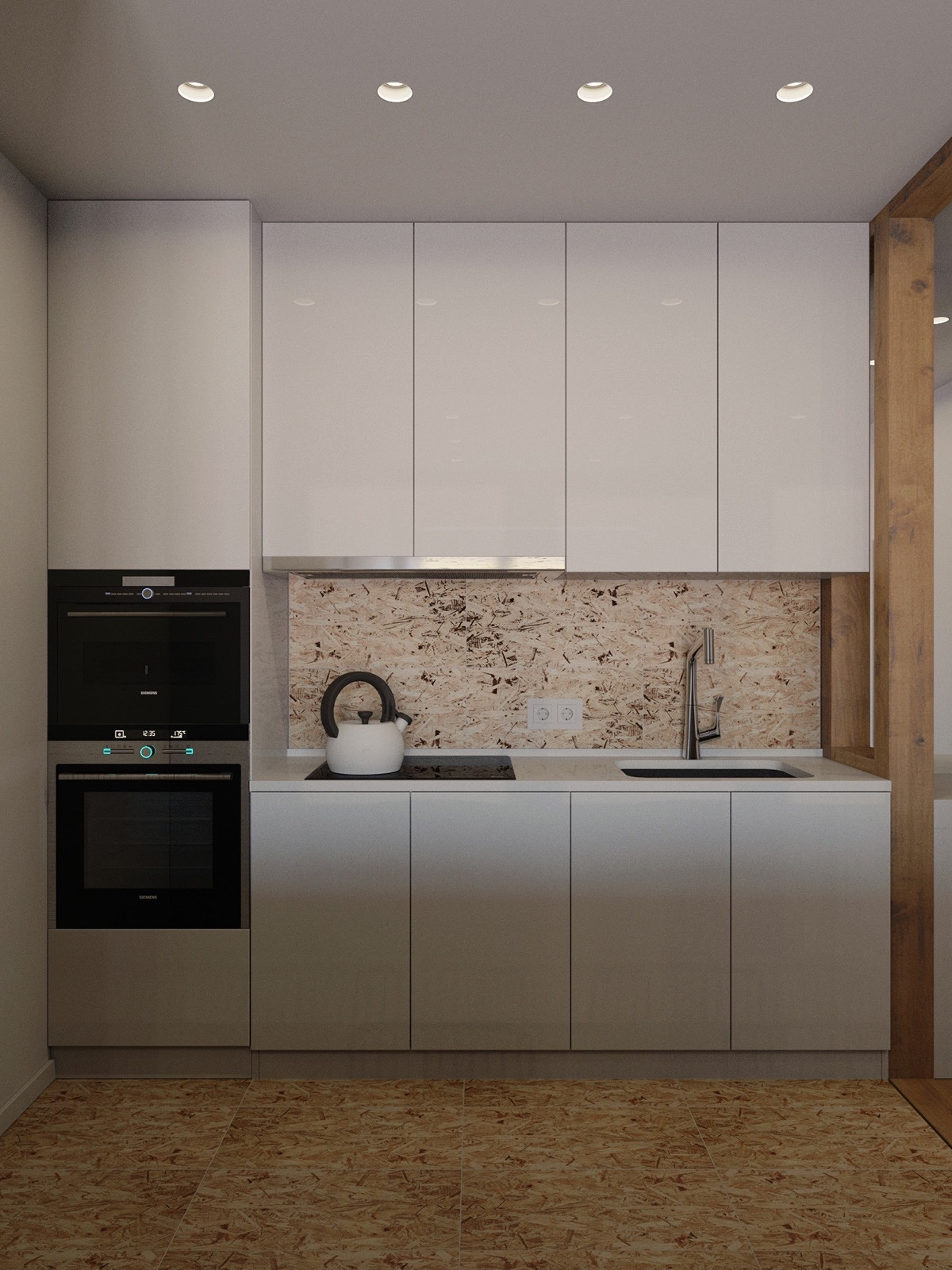 Small Square Kitchen Designs
