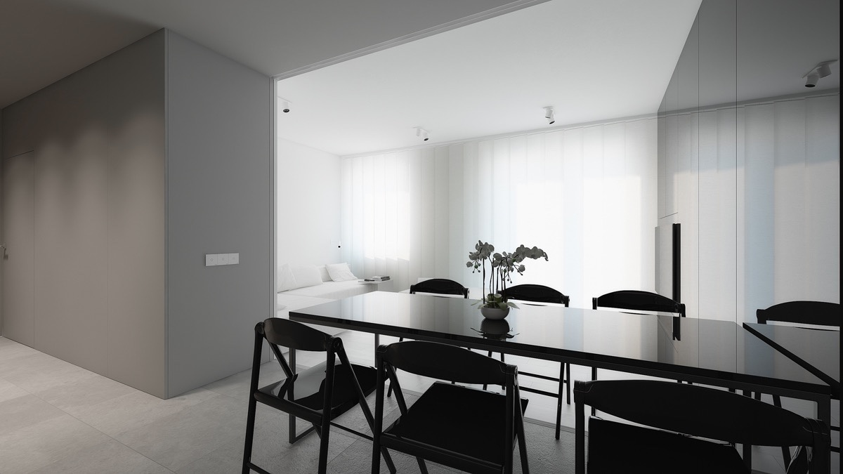 3 Light, White And Minimalist Homes Inspiring Clarity Of
