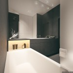 2 Super Simple Homes With Light Wood Panels And Matte Black Accents