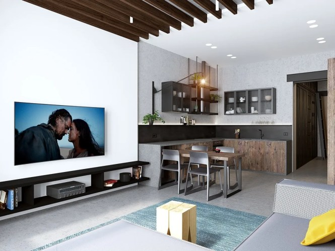 Small Apartments With Open Concept Layouts
