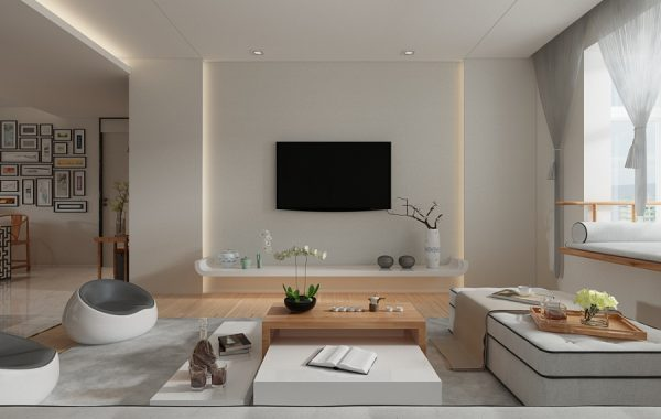. A Beautiful 2 Bedroom Modern Chinese House With Zen Elements
