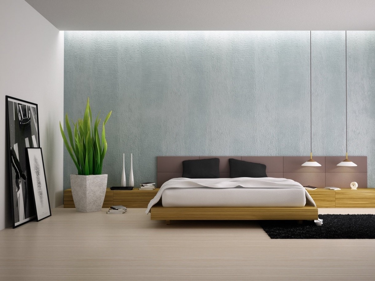 40 Serenely Minimalist Bedrooms To Help You Embrace Simple ... on Minimalist Bedroom Ideas  id=72602