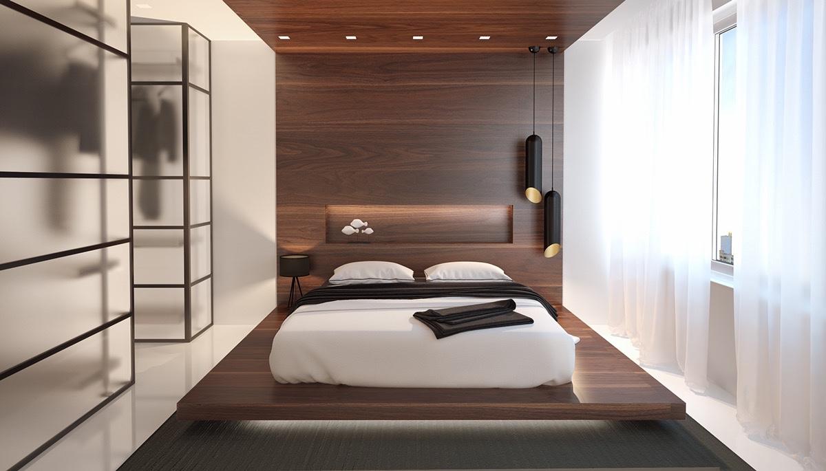 40 Serenely Minimalist Bedrooms To Help You Embrace Simple ... on Bedroom Minimalist Design Ideas  id=26017